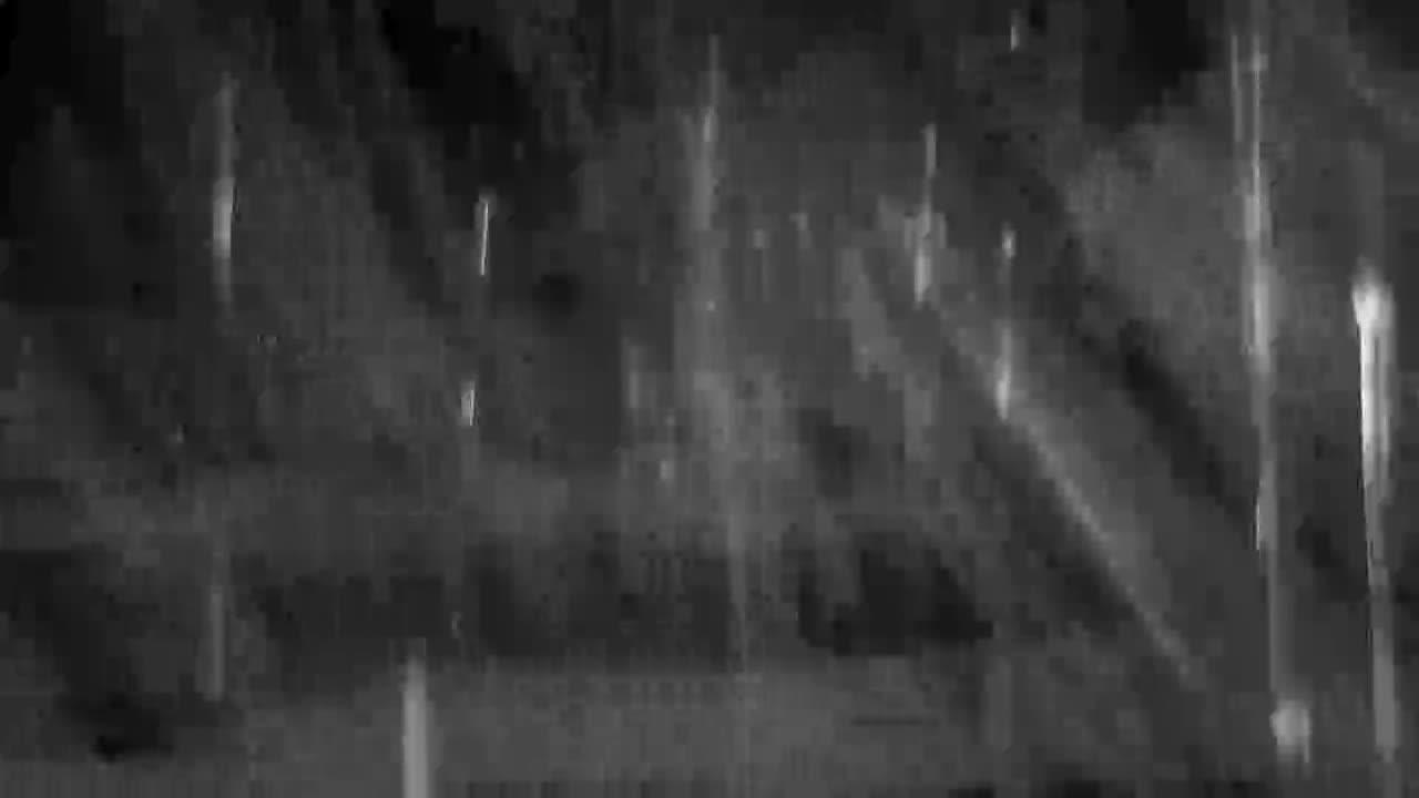 VIDEO: Heavy Rain Thunder and Lightning