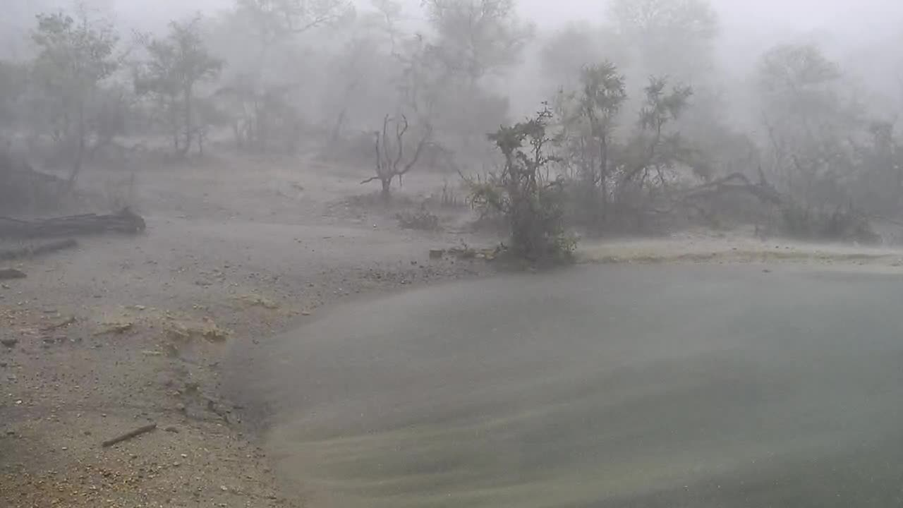 VIDEO: After the elephants left there was this storm and rain at Naledi